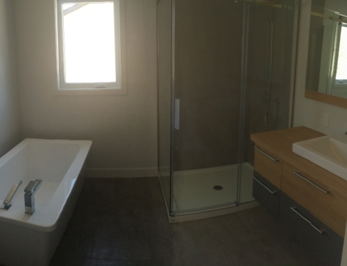 Douche salle bain